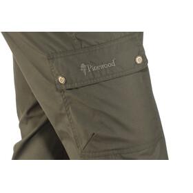 Pinewood Finnveden Tighter - Pantalones de Trekking Hombre - Regular Oliva